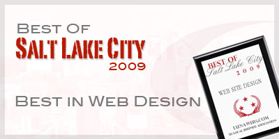 Selected as one of the leading web designers for Architecture firms salt lake city