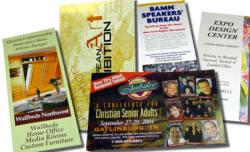 brochures flyers mailers