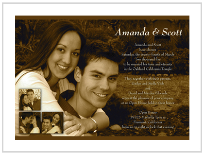 View pricing for our wedding invitation packages now.
