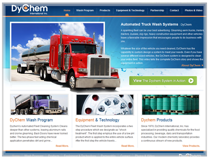 commercial industrial web design