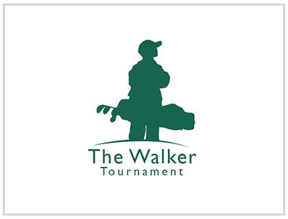 Charity Golf Tournament Logo Design Branding - Non-Profit Logo Design