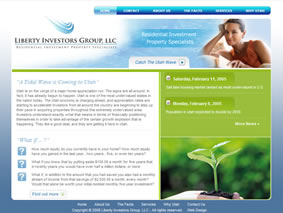 web design real estate investing