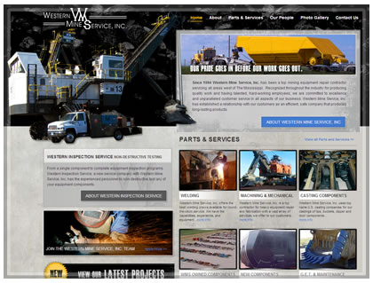Mining marketing website design