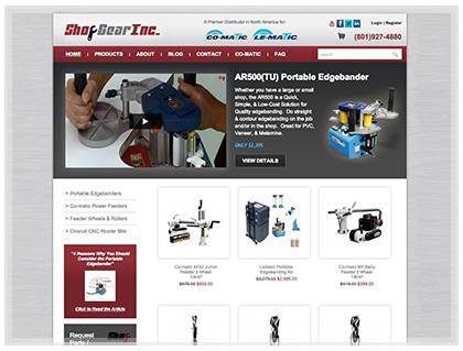 Industrial Shopping Cart Design