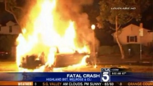 Michael Hastings' Fireball Mercedes-Benz