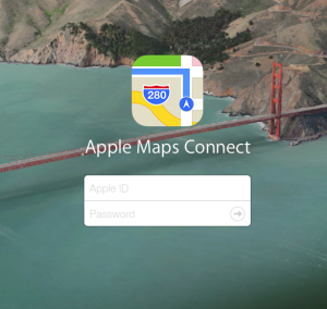 Apple Maps Connect for Business
